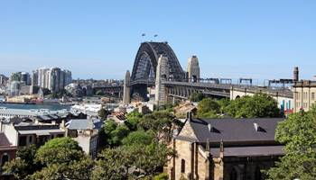 Harbour Bridge From Observatory Hill