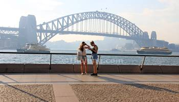Sydney Harbour Bridge From Opera House